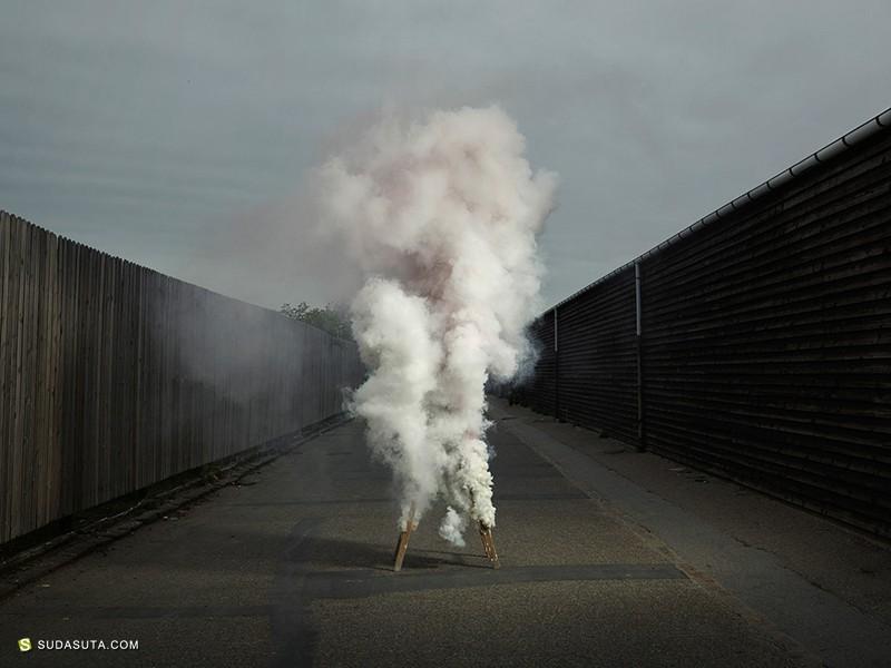 Ken Hermann 烟的艺术 装置设计欣赏