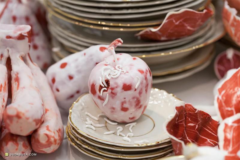 Roni Landa 关于肉的雕塑艺术