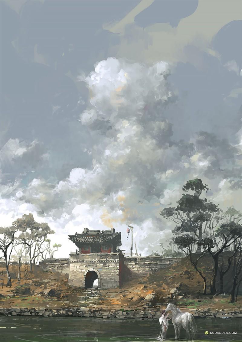 Su Jian 概念插画欣赏