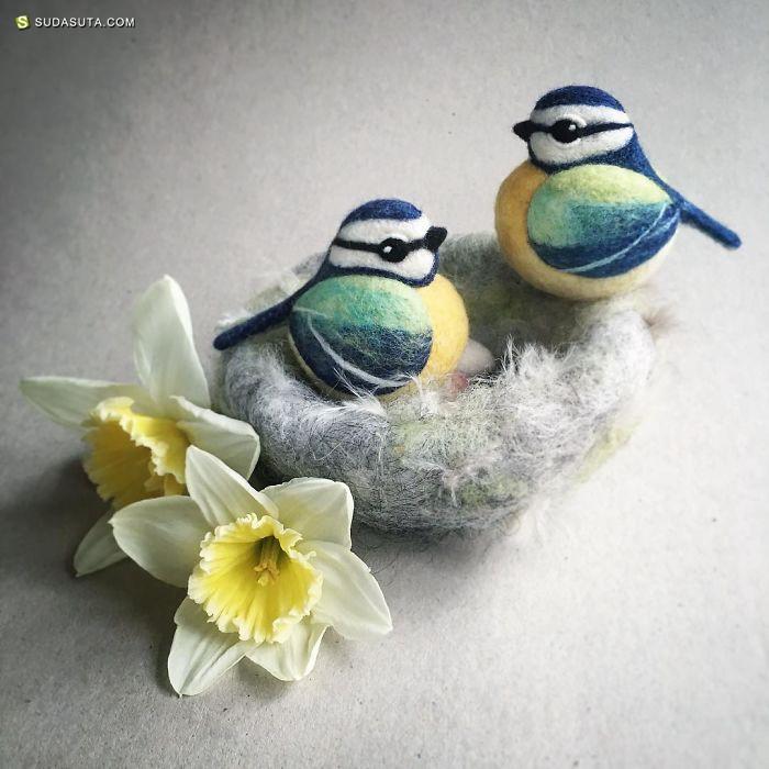 Żenia Kli Zafska 手工玩具设计欣赏