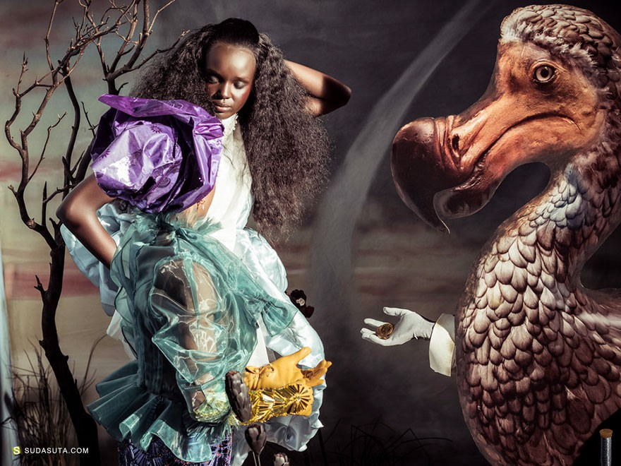 Tim Walker 爱丽丝梦游仙境 时尚摄影欣赏