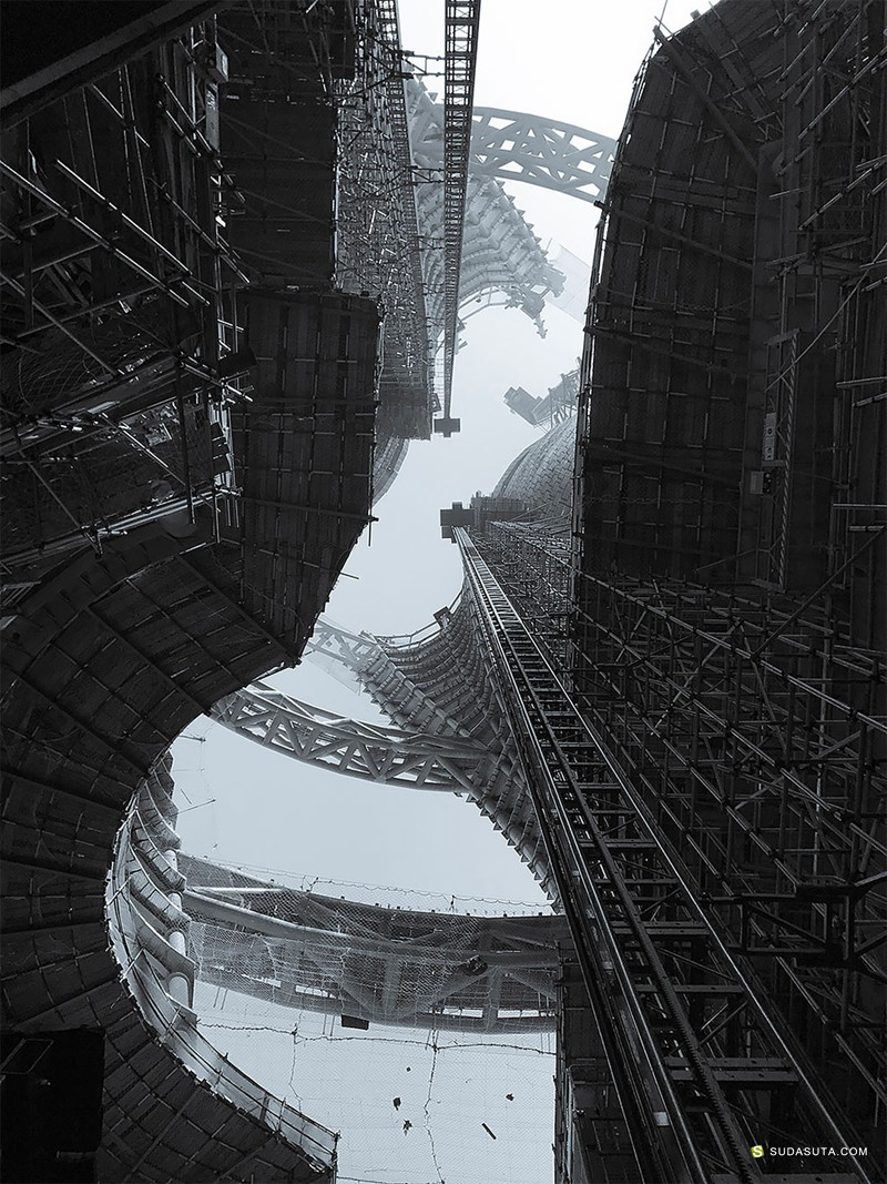 Zaha Hadid 建筑摄影欣赏
