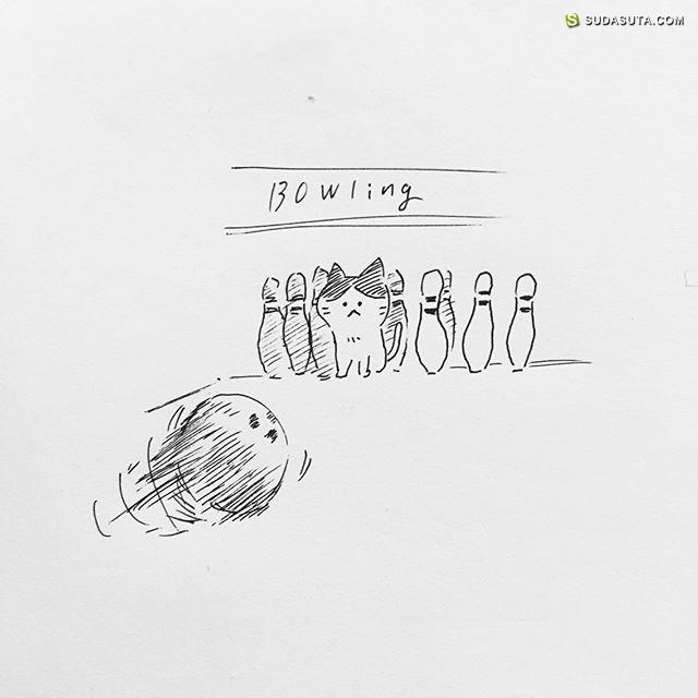 Namsee 喵星人和画画