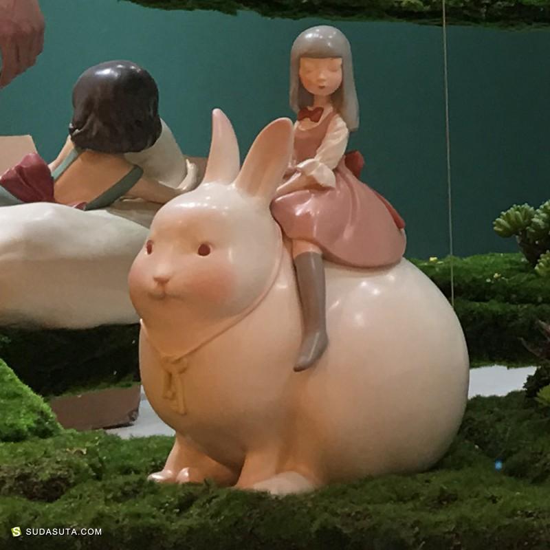 小鸡磕技艺术品 生活可以很童话