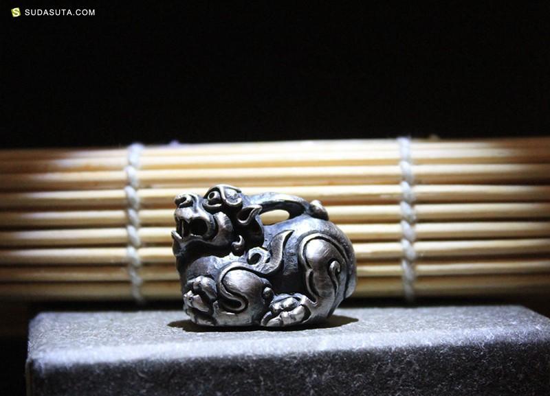 须弥山 原创手工银饰