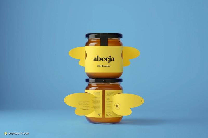 Abeeja 会飞的蜂蜜包装设计