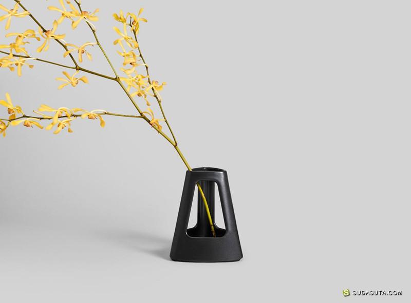 Alain Berteau 优雅迷人的花瓶设计
