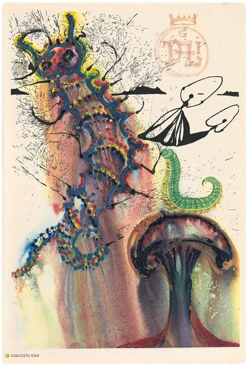 Salvador Dalí 爱丽丝梦游仙境