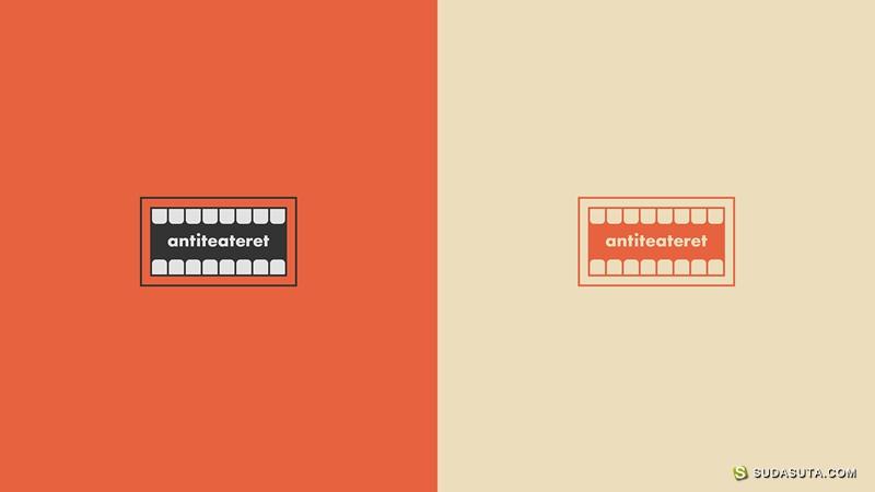 Antiteateret 品牌设计欣赏