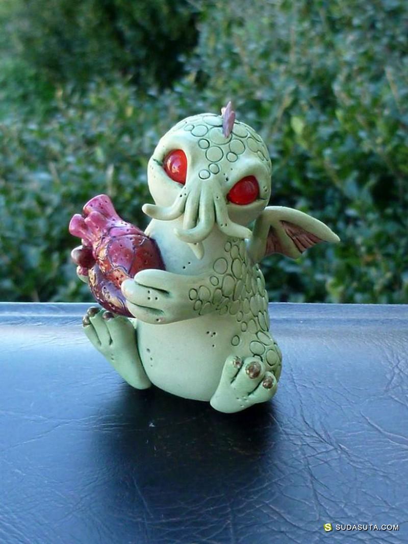 Caralyn Tucker 不可思议的生物 玩具设计欣赏