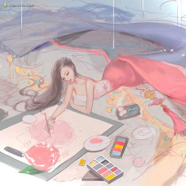 DADACHYO 清新的二次元手绘漫画