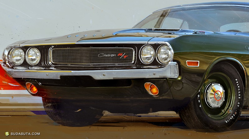 Denis Gonchar 汽车商业插画欣赏