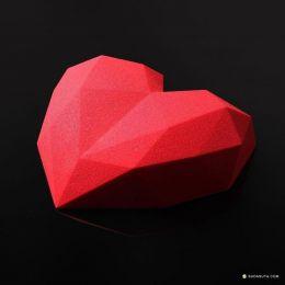 Dinara Kasko 难以置信的几何立体蛋糕设计欣赏