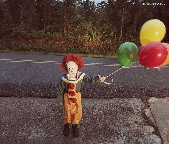 Eagan Tilghman 噩梦的小丑 儿童摄影欣赏