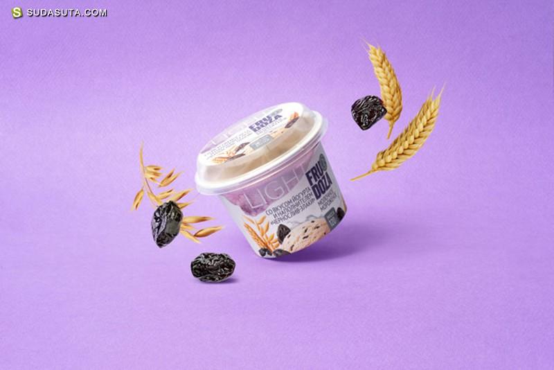 FRUDOZA 冰激凌包装设计欣赏