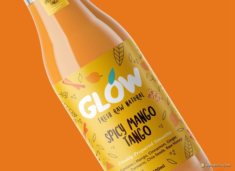 Glow 视觉包装设计欣赏