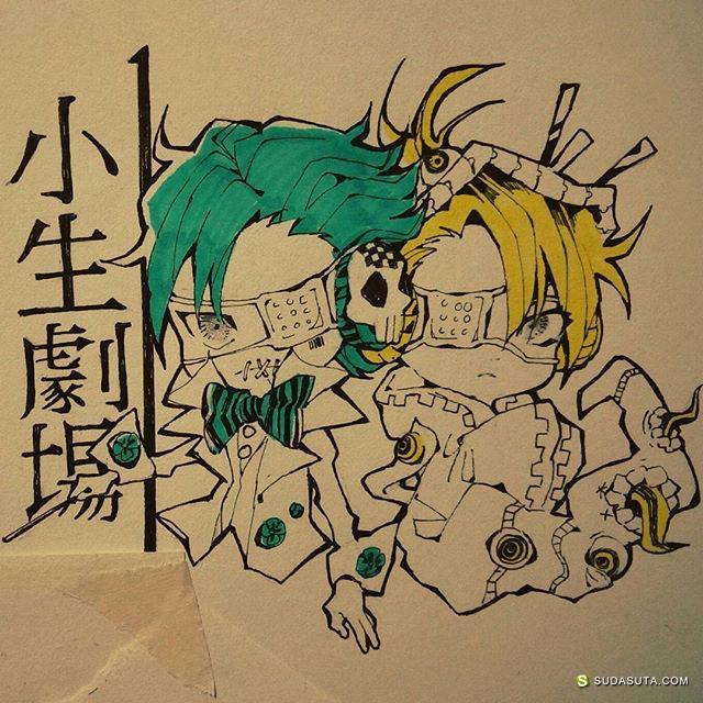 Helium 少年少年 手绘漫画涂鸦