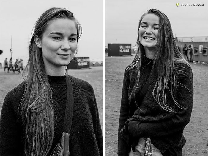 Johanna Siring 与陌生人亲吻 肖像摄影欣赏