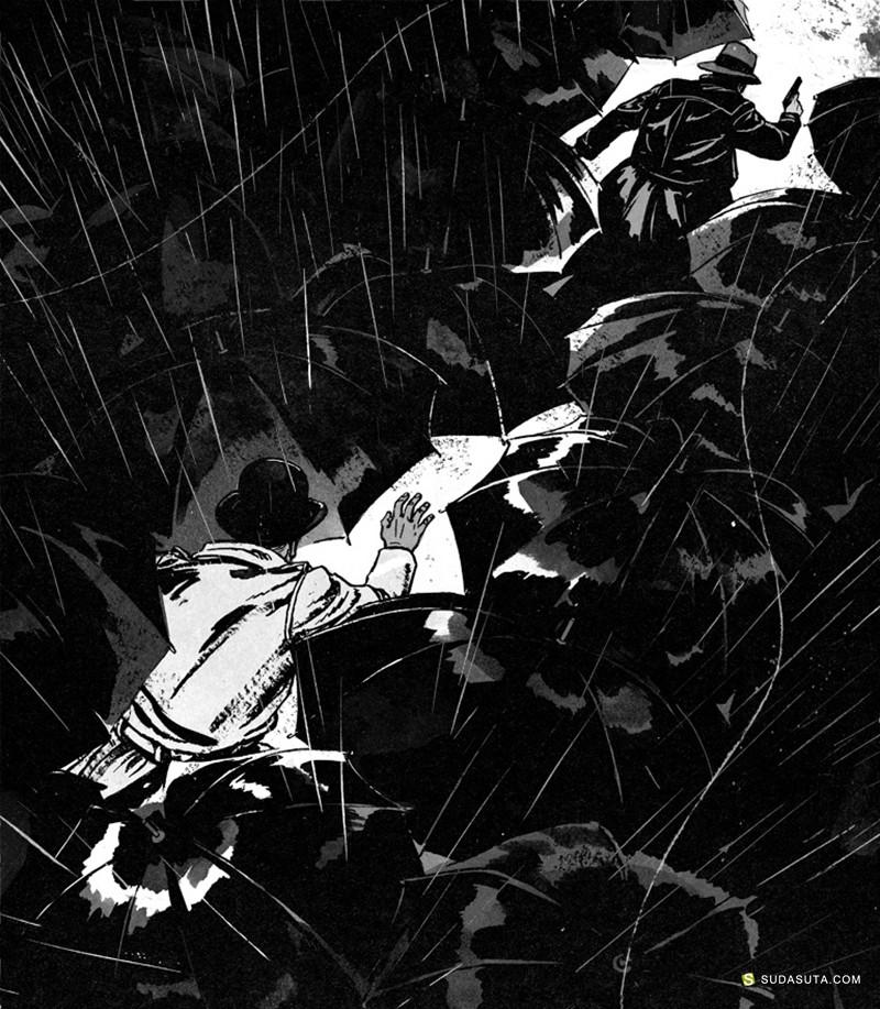 Patrick Leger 插画作品欣赏