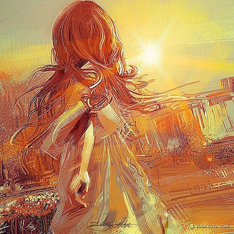 ShuShuhome 坠入光的少女