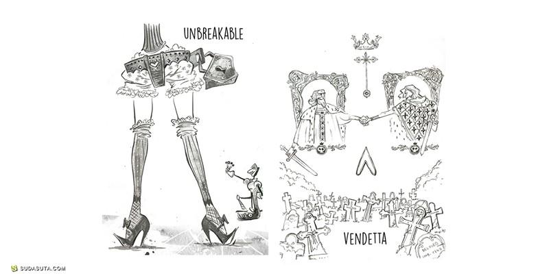 Tata Che 卡通造型设计欣赏