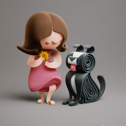 YUMEKON 3D卡通造型设计欣赏