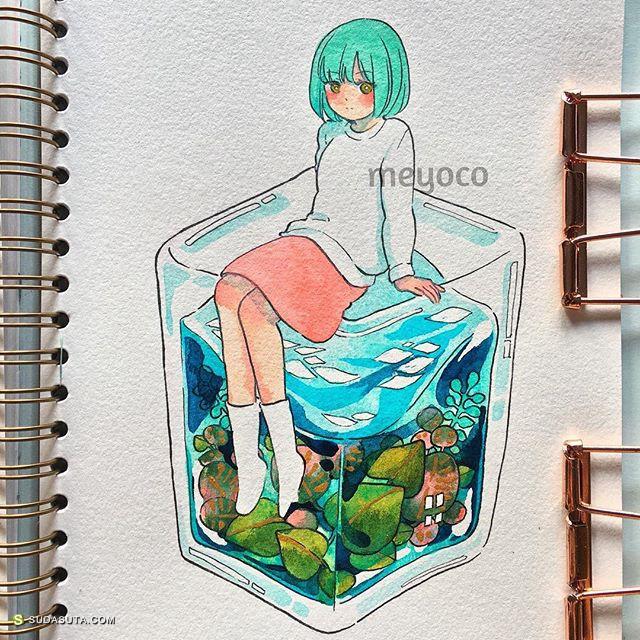 Meyoco 的魔法涂鸦本子