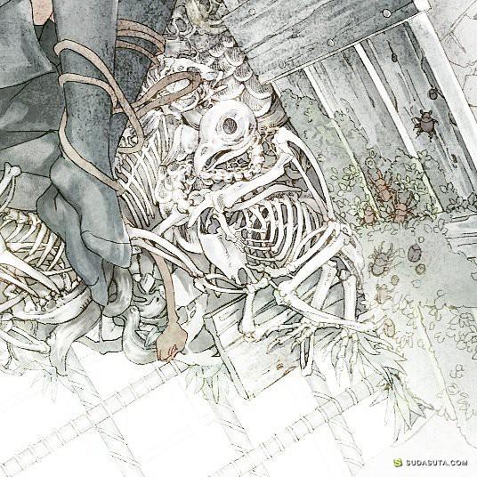 Yanmallll 坠入二次元的世界 手绘漫画欣赏