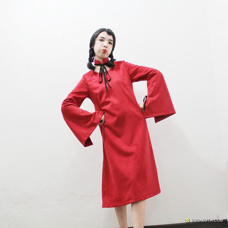 独立设计师 伊甸原创改良旗袍