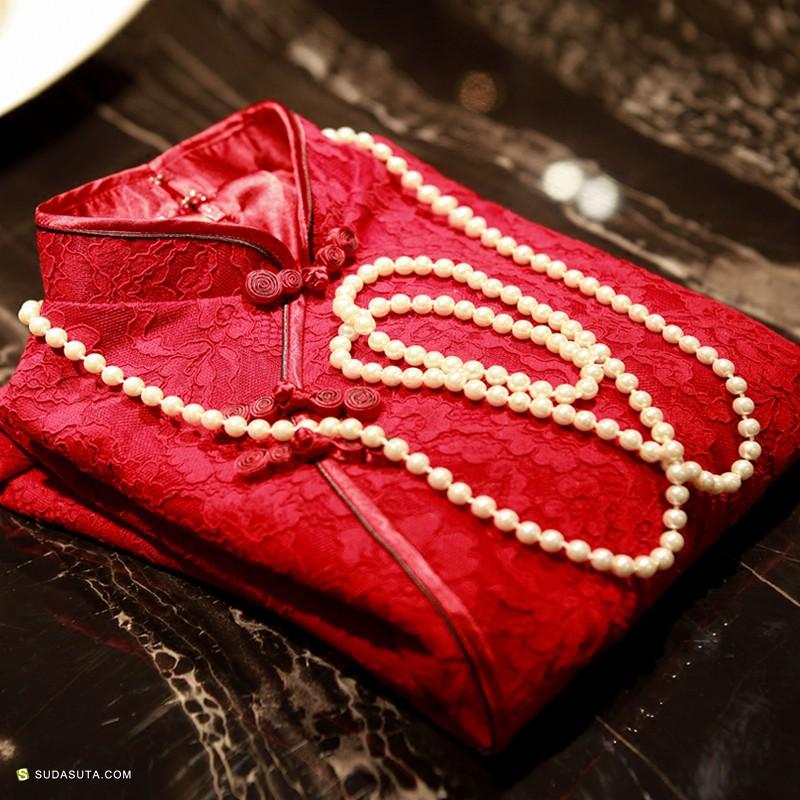 独立女装设计品牌 云格格中式嫁衣