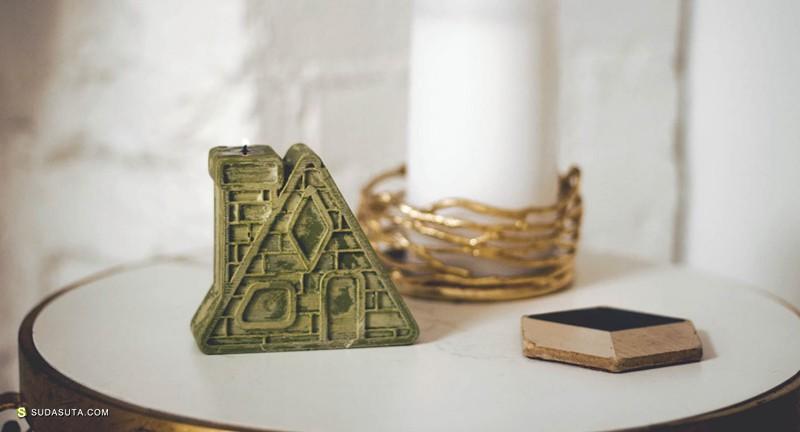 Abby Leighton 蜡烛产品及包装设计欣赏