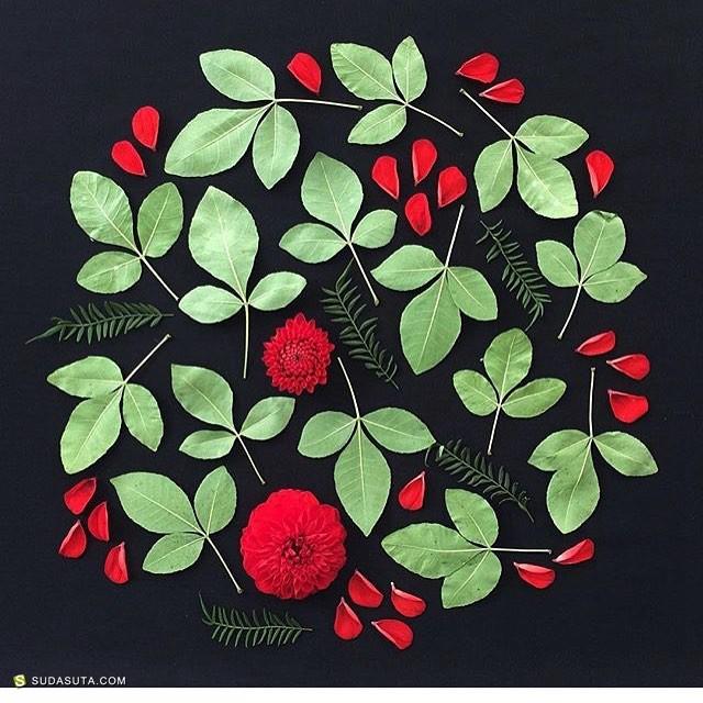 Anastasia Tumanova 植物与女性图腾 陶土雕塑与绘画艺术