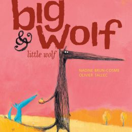 儿童书籍插画《Big Wolf & Little Wolf 》