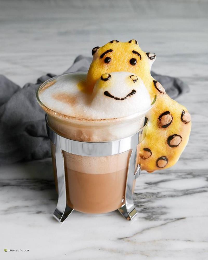 Daphne Tan 立体咖啡泡沫艺术