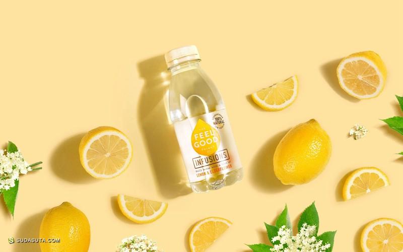 Feel Good 新鲜可爱的果汁包装设计欣赏