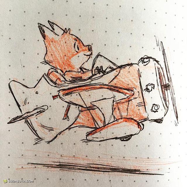 Jake Wyatt 卡通漫画涂鸦