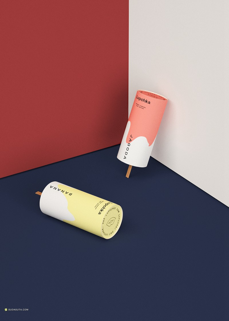 Lupchka 冰激凌包装设计欣赏