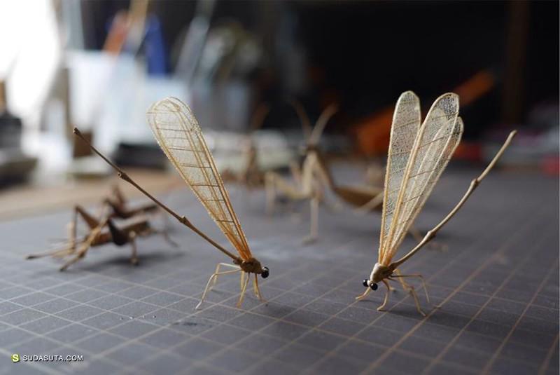 Noriyuki Saitoh 生动的竹子艺术