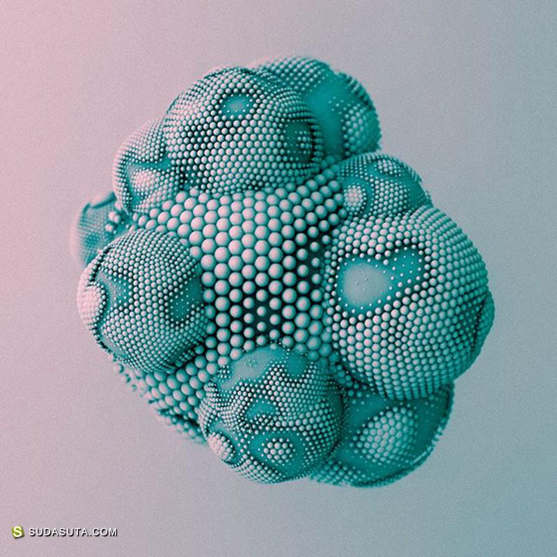 Paulo Gabriel 不可思议的3D渲染
