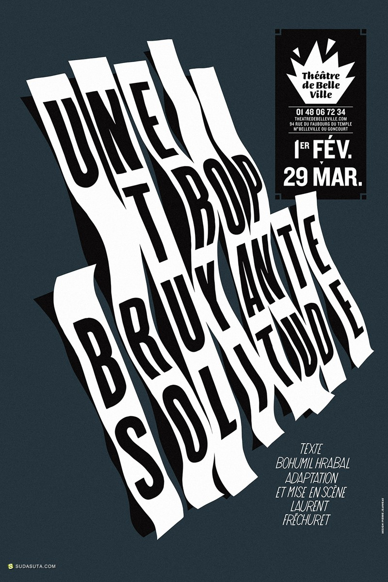 Pierre Jeanneau 平面海报设计欣赏