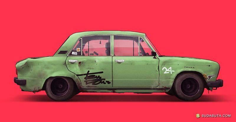 Vlad Tretiak 祖母的汽车