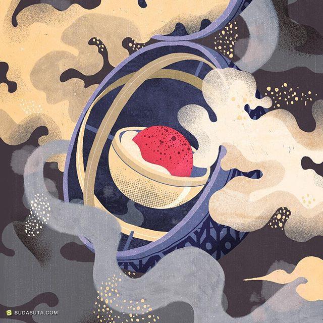 Wenjia Tang 装饰插画欣赏