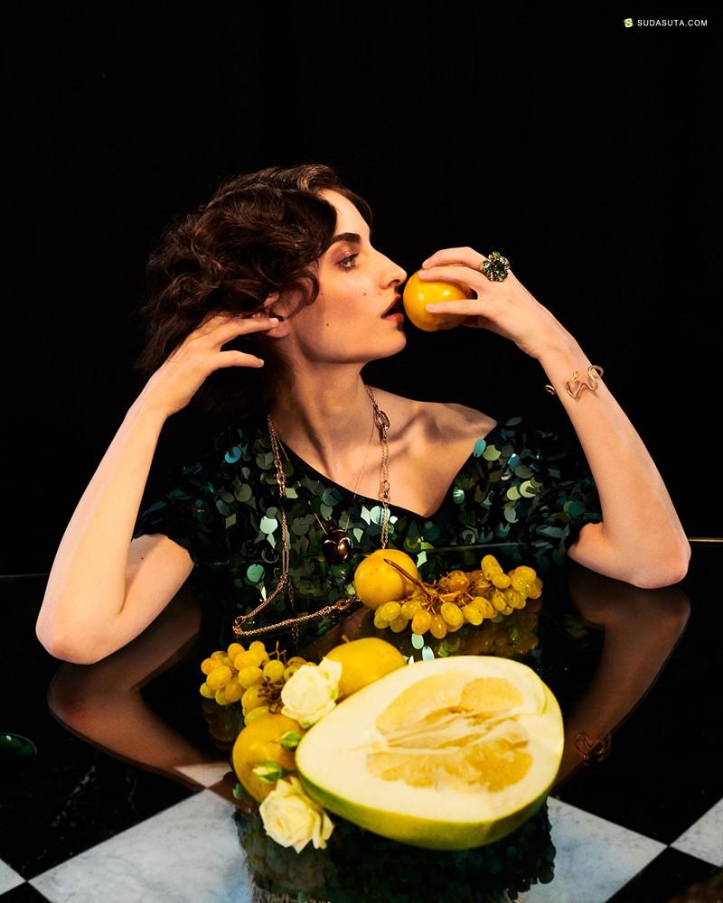 Elizaveta Porodina 时尚摄影《A FAMILY AFFAIR》