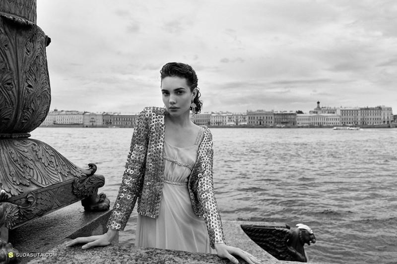 Andrey Yakovlev Lili Aleeva 时尚黑白摄影欣赏