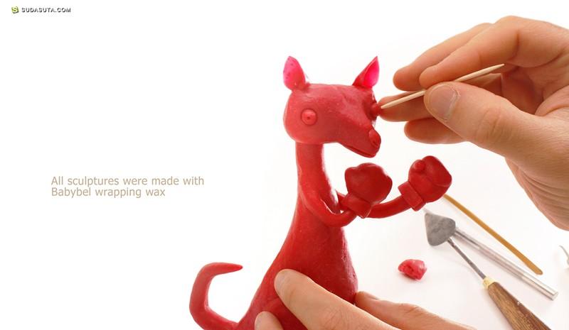 Gianluca Maruotti 手工卡通造型设计欣赏