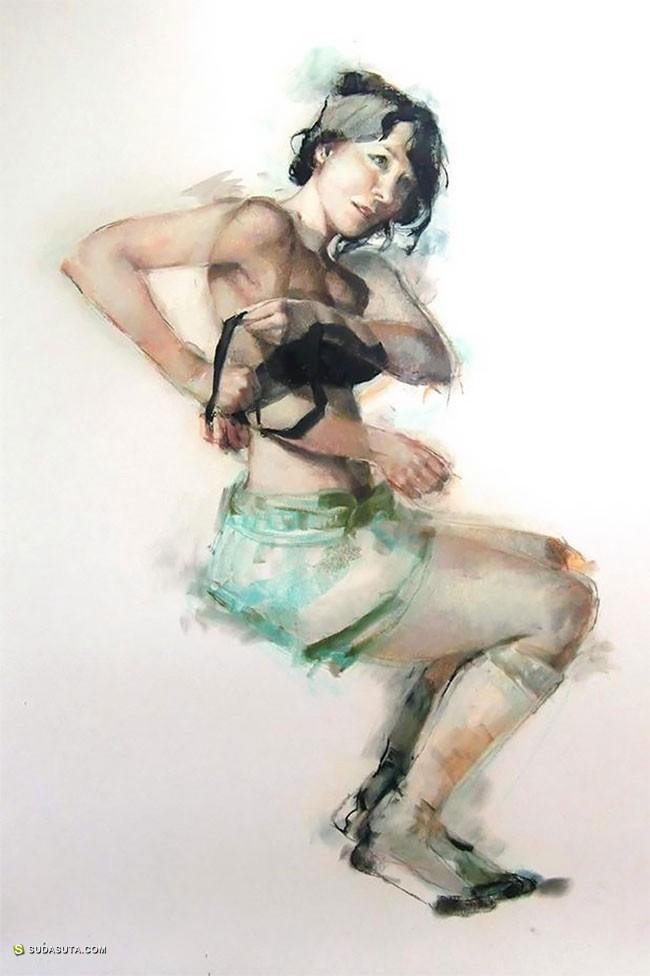 Jane Radstrom 绘画艺术欣赏