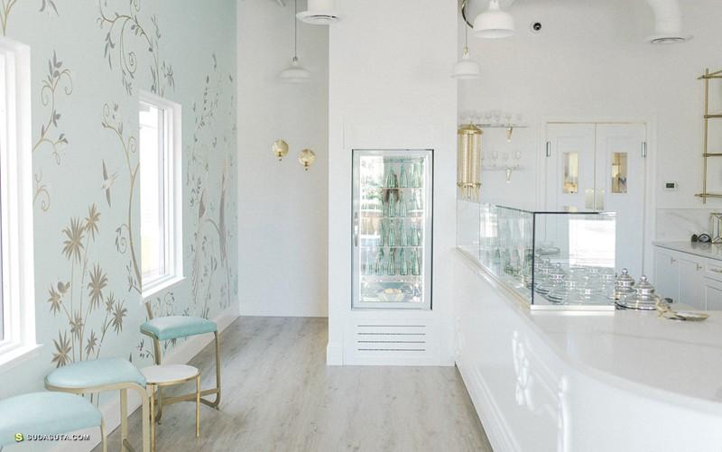 La Glace 优雅迷人的冰激凌店