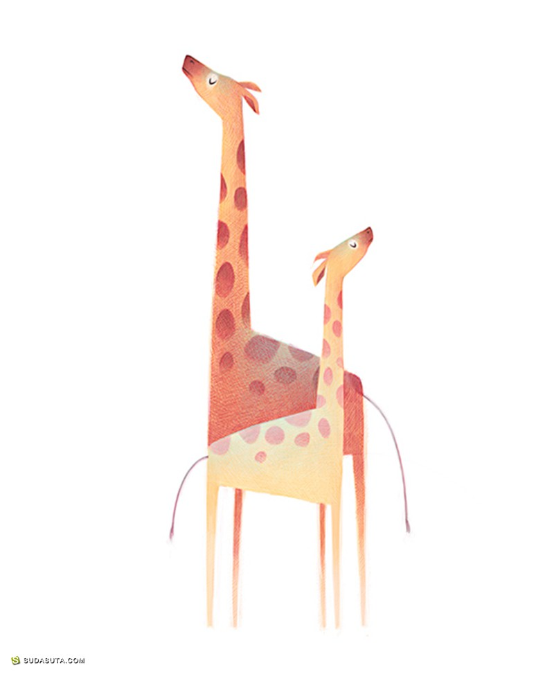 Mercedes deBellard 动物卡通造型设计欣赏