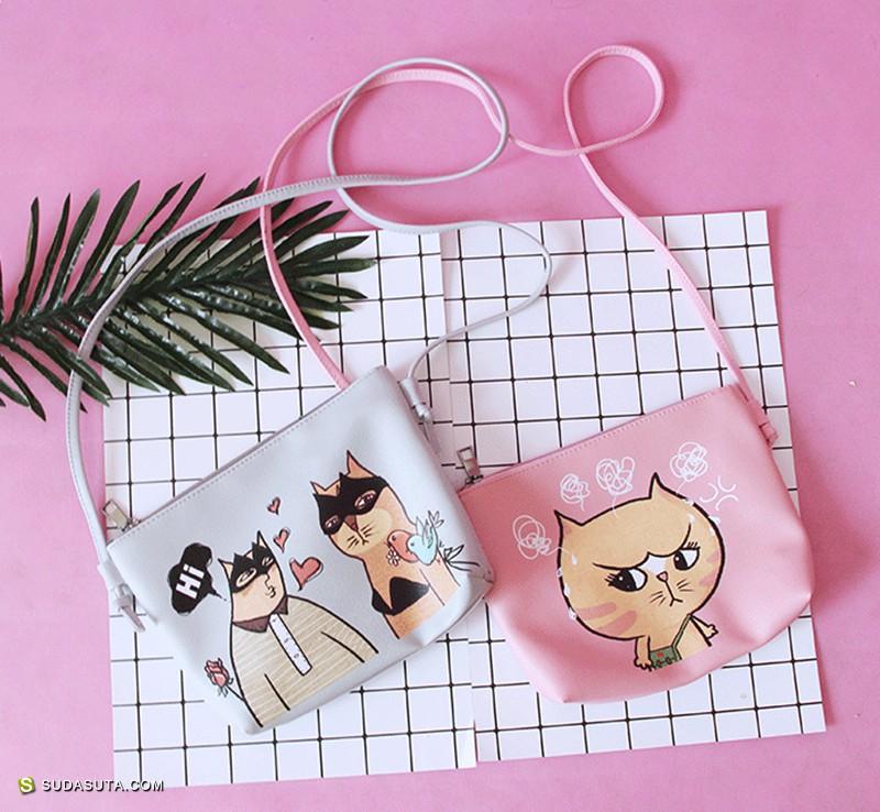 有漂亮脸蛋的人 可爱萌趣的包包设计
