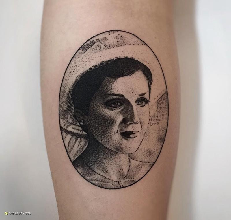 Charley Gerardin 纹身设计欣赏